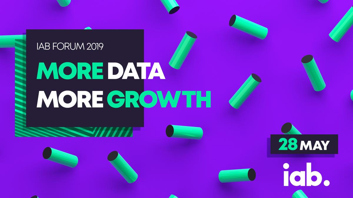 Стартира регистрацията за IAB Forum 2019: More data, more growth