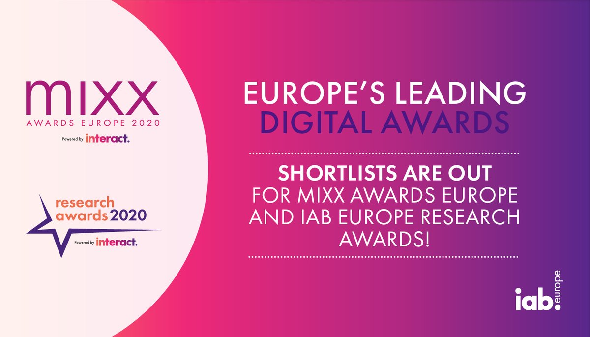 България с пет финалиста в IAB MIXX EUROPE 2020